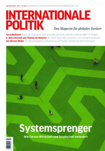 Bild: Cover der IP 02-2021, Systemsprenger